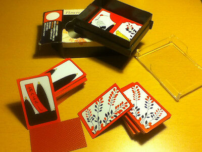Hanafuda Japanese Flower Cards With Protective Plastic Case!