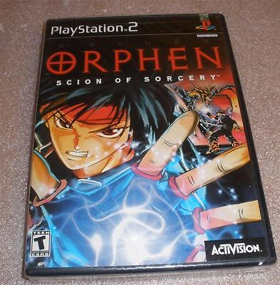 Ps2 Orphen Scion of Sorcery video game Factory Sealed