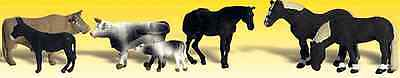Woodland Scenics (N-Scale) A2142- Scenic Accents Animals - Farm Animals - NIB