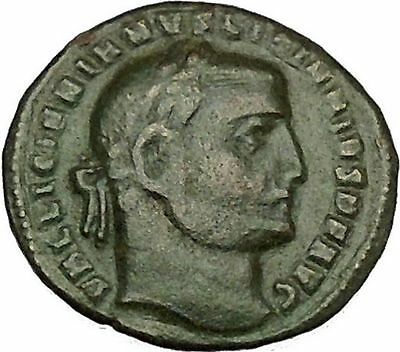 LICINIUS I enemy of Constantine the Great Ancient Roman Coin Genius RARE i39888