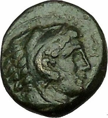 PHILIP III possibly unique HALF UNIT Ancient Greek Macedonian Coin 323BC i39784