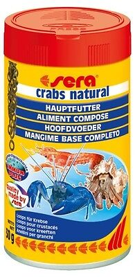 Sera Crabs Natural Hoops Aquarium Food 100ml