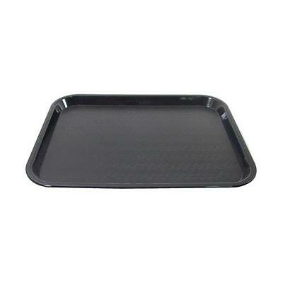 Carlisle - CT1014-03 - 14 in x 10 in Black Fast Food Tray Restaurant Cafeteria