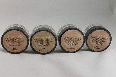 Max Factor Whipped Creme Foundation great coverage World Wide Free Postage