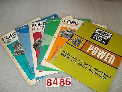1968 1969 Ford Industrial Products/ Engines 62 Total Pages Six Catalogs