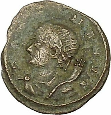 Constantine I the Great 330AD POP ROMANVS Authentic Ancient Roman Coin i39802
