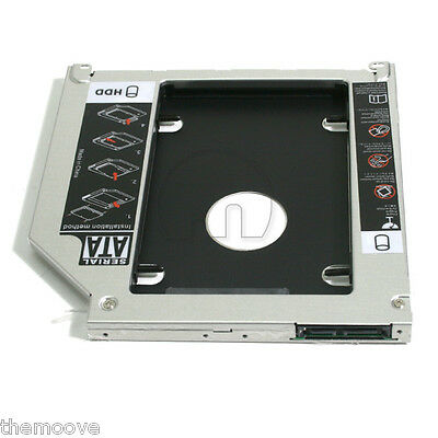 "2.5"" SATA Hard Drive Caddy Bay Optical HDD SSD Optibay for Macbook / Macbook Pro"
