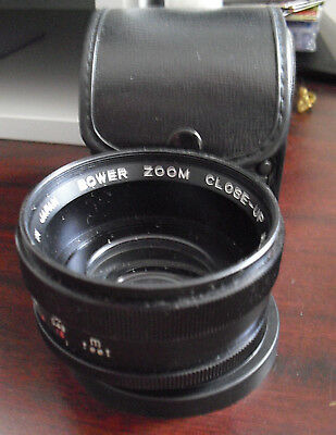 Bower Zoom Close Up  Aux Camera Lens Series VII Japan Made