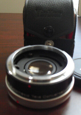 Vivitar Automatic Tele Converter Camera Lens 2X-4 FL-FD Japan Made