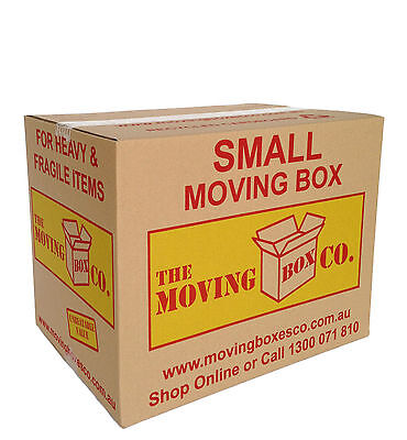 50x MOVING BOXES BOOK WINE $2.19each, SMALL CARDBOARD REMOVALIST PACKING CARTONS