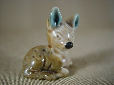 WADE WHIMSIE FAWN DEER ENGLISH WHIMSIES FROM SET 1 1971 vgc ref 7