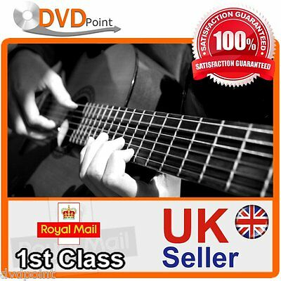 Learn How To Play Acoustic And Electrical Guitar Like A Pro Video Dvd