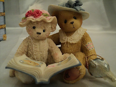 Cherished Teddies Friends Collection Tess and Friend Figurine