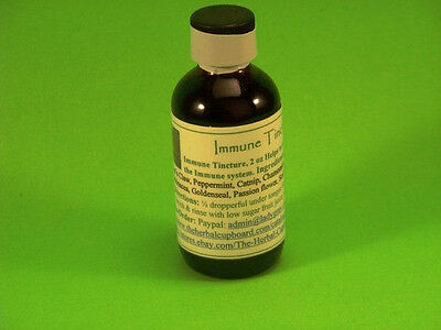 Immune Tincture Blood Booster Body System Cleanser Anti Fungal 2oz: $13.25