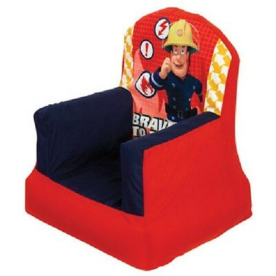 Fireman Sam Cosy Chair Inflatable Sofa Seat