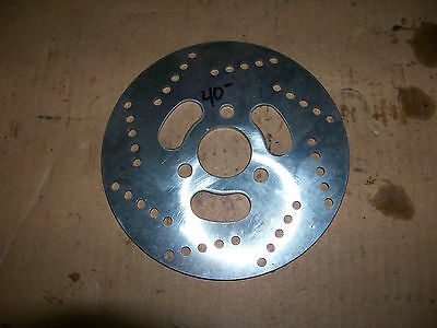 NEW unilli Chinese Scooter GTR 150 Rear Front Brake Rotor Disc 125 cc