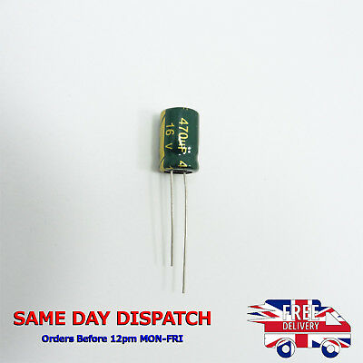63V 470uF Electrolytic Capacitors CHONG High Frequency LOW ESR Genuine