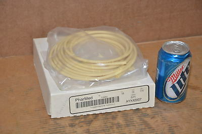 NEW 25ft Pharmed AYX42007 1/8 ID 1/4 OD Medical Grade Silicone Tubing INV=14323
