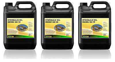 Hydraulic Oil - Filtered ISO 14/11 - Viscosity 32 / 46 / 68 - 20L Container