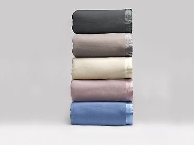 New Pure Australian Wool Blanket 480GSM Washable All Sizes by BIANCA