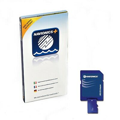 Navionics PLUS Small FRANCE Micro SD / SD Carte Marine
