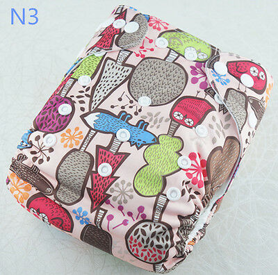 10 pcs New Pocket baby diaper Without Inserts, breathable washable diaper cover