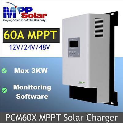 mppt Solar charge controller mppt solar charger 60A mppt max 3200w solar power