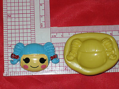 LalaLoopsy Silicone Mold Resin Clay Candy Bookscraping A489 Fondant Chocolate