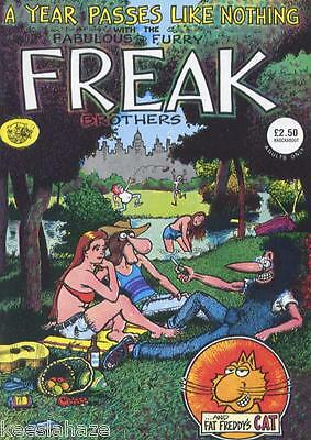 The Fabulous Furry Freak Brothers - No 3 - (Collector's Item - 1976)