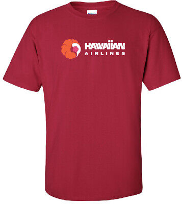 Hawaiian Airlines Retro Logo US Airline T-Shirt