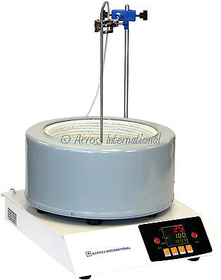 Ai DigiM 5L 350°C 2500 RPM Digital Magnetic Heating Stirring Mantle Short Path