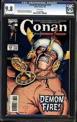 Conan the Barbarian #270 CGC 9.8