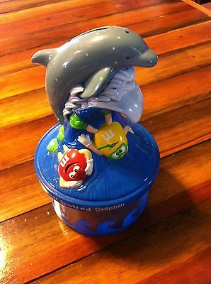 Collectible M&m Candy Endangered Wildlife Bank,  Pan-Tropical Spotted Dolphin
