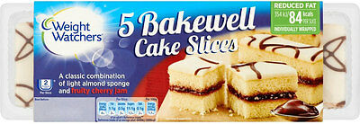 WEIGHT WATCHERS BAKEWELL SLICES 3 x 5 PACK