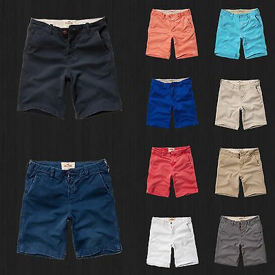 NWT Hollister HCO By Abercrombie Classic Fit At The Knee Shorts All Size, Color