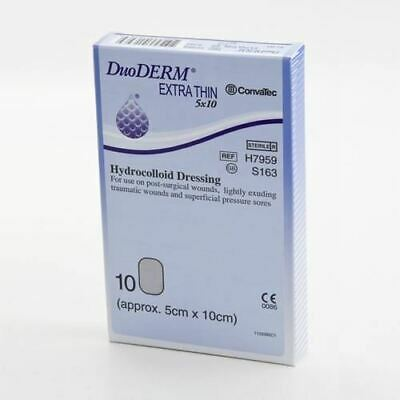 DuoDerm Extra Thin Dressing - Rectangle 5cm x 10cm (x10)