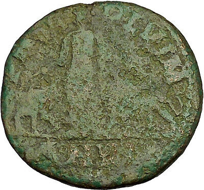 Philip 'the Arab' Big Ancient Roman Coin Viminacium  Legion Bull Lion  i40262