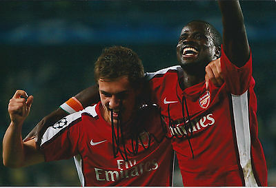 Aaron RAMSEY Arsenal SIGNED COA Autograph 12x8 Photo AFTAL Champions League RARE