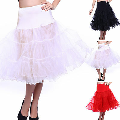 Girls Ladies Black Red White Long Tutu Skirts Pettiskirt Dance Regular Plus Size