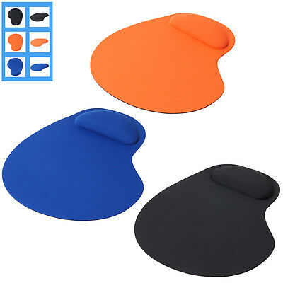 Thin Wrist Comfort Mouse Pad mat for PC Laptop - Three Colors