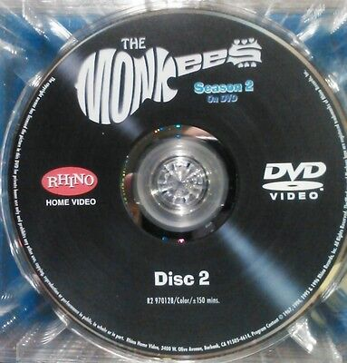 """THE MONKEES,SEASON 2, """"DISC 2 ONLY"""" - REPLACEMENT DISC,  FROM BOX SET"""