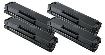 4PK for Samsung MLT-D101S Black Laser Toner Cartridges for SCX-3405FW Printer