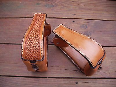 Western Hand Made Leather Stirrup