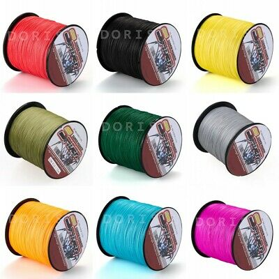 Strong 300M/328Yards 10LB-100LB Dyneema Spider Braid Fishing Line All Colors