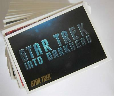 2014 STAR TREK MOVIES - GOLD CARD Make up your set Card Numbered up to 60