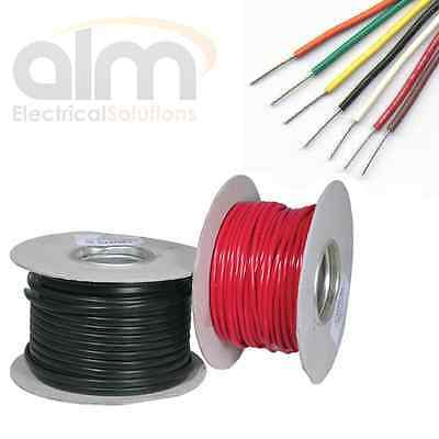 6mm Thinwall Tinned Cable 50 Amp 84/0.30 Auto & Marine All Lengths and Colours