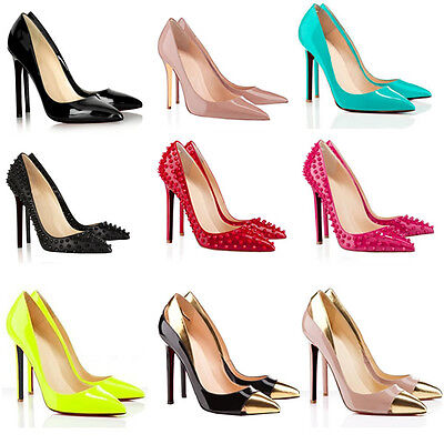 Womens Sexy High Heels Pointed Fashion New Style Work Pumps Court Shoes Size4-11
