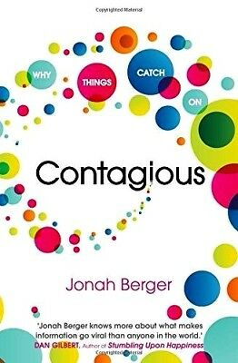 Contagious by Jonah Berger - WH3 - SE- PBL693 -  NEW BOOK