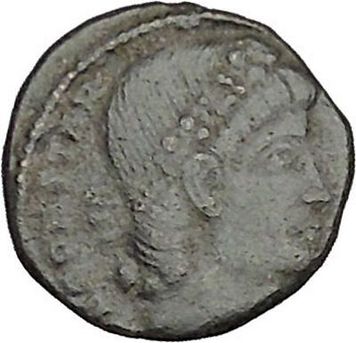 CONSTANTIUS II son of  Constantine the Great  Roman Coin Glory of  Army i40439