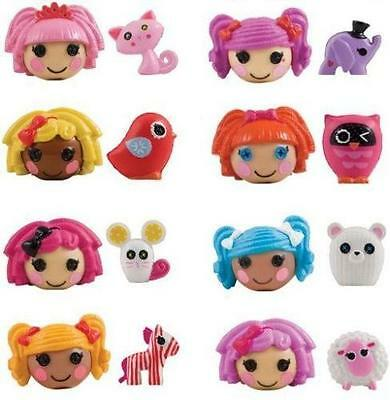 LALALOOPSY PENCIL TOPPERS ( 16 PCS ) COLLECTION SET OF LALALOOPSY WITH MASCOTS